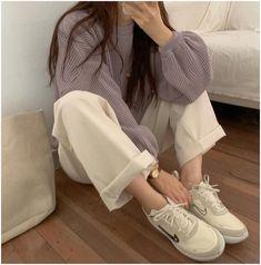 Korean Girl Fashion, Korean Fashion Trends, Ulzzang Fashion, Korean Fashion Minimal, Korean Street Fashion Summer, Korean Fashion Winter, Korea Fashion, Grunge Outfits, Boho Outfits