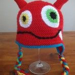 Monster Hat Monster Hat, Crochet Hats, Beanie, Cool Stuff, Awesome, Knitting Hats, Beanies, Be Awesome, Beret