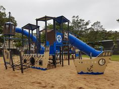 Tippler's Hub Proves a Place for All Ages | Children of all ages are excited about the new play area at Tippler's Hub on South Stradbroke Island, forget the areas pristine beauty, the kids are here to play!