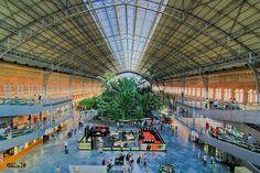 Estacion-de Atocha, Madrid