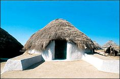 A traditional bhungas (mud house) is an engineering wonder.
