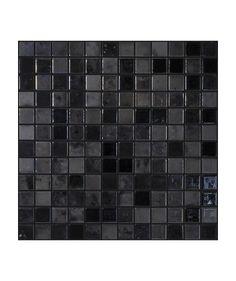Madrid Anthracite Lustre Mosaic Tile