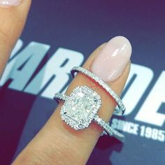 Yes Please !! My favourite diamond cut | Rings by @paradejewellers #bridesjournal