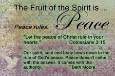 peace Beth Moore  Candy Troutman