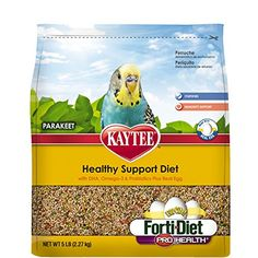Kaytee Forti Diet EggCite Bird Food for Parakeets 5Pound Bag * Read more at the image link. (This is an affiliate link)