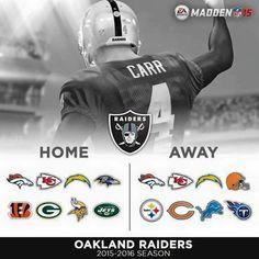 #Raiders 2015-2016 Season