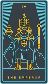 The meaning of The Emperor from the Golden Thread Tarot deck: You have the wisdom and authority to achieve your goals. Major Arcana Cards, Tarot Major Arcana, Tarot Card Decks, Tarot Cards, Wicca, Magick, Golden Thread Tarot, The Emperor Tarot, Sims