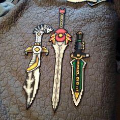 Power Rangers swords