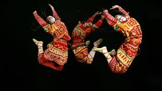 An image from the 2013 production of Le Sacre du Printemps by the Joffrey Ballet, Chicago, reflects the hard jumps and stamps of Vaslav Nijinsky's original choreography.    Herbert Migdoll/Joffrey Ballet