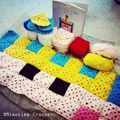 """Couverture en pixel """"Roi"""" pour enfant du livre 100 pixel plaids ! Pixel coverage """"King"""" for kids - Book 100 pixel plaids ! #100pixelplaids #crochet"""