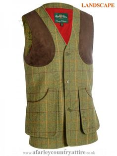 7413427d26a2 Alan Paine - Compton Shooting Waistcoat - Landscape Tweed - available to  buy online at http
