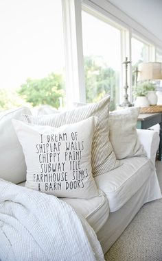 Farmhouse Pillows fo