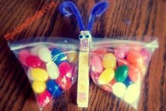 Frugal Kid #Easter #Craft Jelly Bean Butterfly http://madamedeals.com/easter-craft-jelly-bean-butterfly/