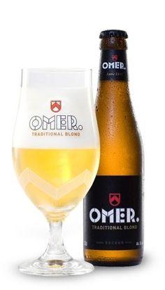 Cerveja OMER, estilo Belgian Blond Ale, produzida por Brouwerij Bockor, Bélgica…