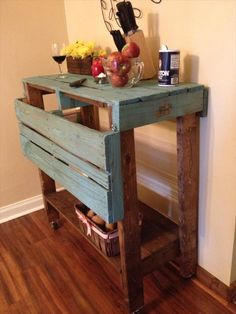 Pallet Kitchen Island | Pallet Furniture Plans