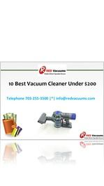 10 Best Vacuum Cleaner Under $200  >>>>  vacuum cleaner being no different. If you think it won't be feasible to get a vacuum cleaner that is high on quality and comes as low as just $200, then you are surely incorrect. We provide a list of good quality #vacuumcleaner which price less than $200.
