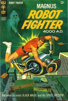 VIC PREZIO - Magnus Robot Fighter #21 - Feb 1968 Gold Key Comics