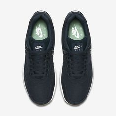 competitive price d8815 4e75d Chaussure Nike Air Max 1 Pas Cher Homme Ultra 2 2 Textile Marine Arsenal  Voile Menthe Fraiche Marine Arsenal