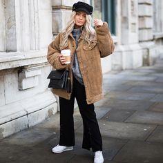 700b85aca48 YJSFG HOUSE Fashion Womens Coats Oversized Teddy Bear Coats Ladies Faux Fur  Button Ladies Jackets Outwear