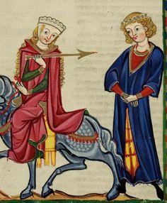 Gardecorps. Codex Manesse 1300-1340(DE) 362 (Zürich, Switzerland)