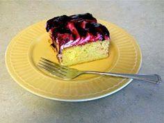 deborah raney's blackberry cream cake.  yum!