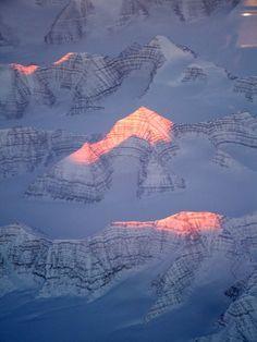 Greenland....amazing mountain peaks