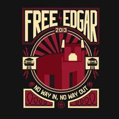 AH Free Edgar Shirt