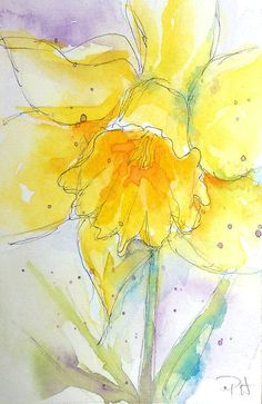 My art journey with collage and watermedia ~ Patricia Henderson Watercolor Projects, Watercolor And Ink, Watercolor Flowers, Watercolor Paintings, Painting Flowers, Watercolor Portraits, Watercolor Landscape, Abstract Paintings, Watercolours