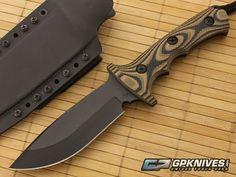 Treeman Knives Combat Hunter Camo G10