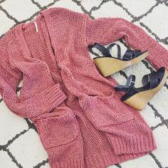 Stitch Fix - rose cardigan