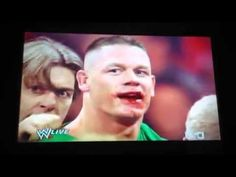 Brock & Cena get into a real fight (Whoop that A$$ Cena!)