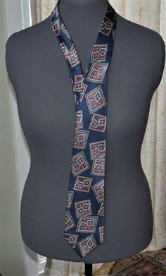 OSCAR DE LA RENTA men's necktie. 100% silk.