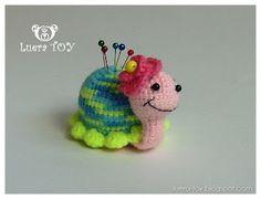 Turtle ☺ Free Crochet Pattern ☺ FREE PRINTABLE PATTERN 4/14.