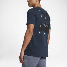 Jordan Clutch Men's T-Shirt, by Nike Size Medium (Blue) - Clearance Sale