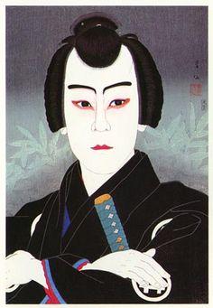Ichiikawa Sumizo as Gonpachi by Natori Shunsen, 1926