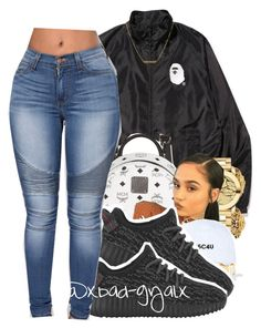 """""""12/13/16"""" by xbad-gyalx ❤ liked on Polyvore featuring MCM, Versace, Movado, Maison Margiela and Dutch Basics"""