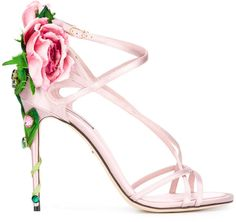 Browse and shop Dolce & Gabbana Ricamo Fiori Sandals from the world's best luxury designer boutiques at Modalist, choose from widest range of designer pieces. Floral Sandals, Pink Sandals, Pink Shoes, Shoes Sandals, Heeled Sandals, Ankle Wrap Sandals, Ankle Strap Shoes, Strap Sandals, Stiletto Shoes
