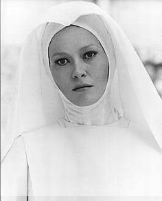 Faye Dunaway as Milady de Winter in The Four Musketeers (1974). Exquisite. Very few images of her as a nun on the internet.