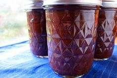 Slow Cooker Apple Butter and canning