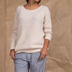 Suéter Creme - S www.magarderobestore.com