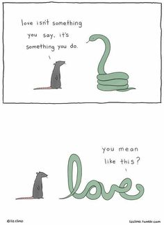 20 Adorably Funny Animal Comics by Liz Climo 20 Liebenswert lustige Tiercomics von Liz Climo Funny Animal Comics, Funny Animal Memes, Funny Comics, Funny Animals, Cute Animals, Animal Humor, Animal Quotes, 9gag Funny, Funny Texts