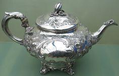 Good Antique Victorian Solid Silver Teapot 756 grams 1856 | eBay