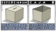 Referendum. Caja B