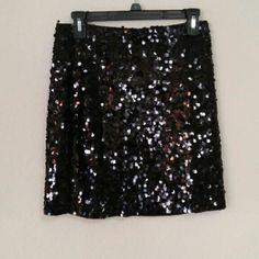 Michael Kors Embellished Skirt Stunning skirt with embellishment all around, knee length. Skirt has lining inside. In great condition. Knee length. Price is firm. Michael Kors Skirts Midi