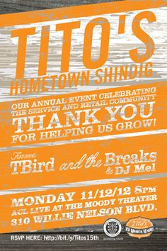 @TitosVodka Hometown Shindig tonight! #Austin #vodka #party