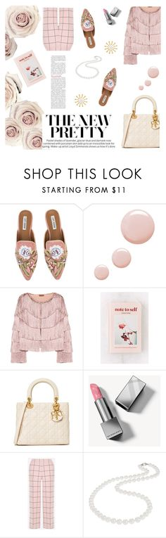 """""""Pastel Flower"""" by andreamilles on Polyvore featuring Topshop, Missoni, Urban Outfitters, Burberry, Valentino, Nadri and Meg Carter Designs"""