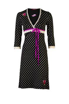 polkadot dress Tante Betsy  granny chique!