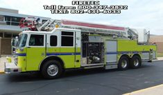 Used fire truck for sale. Aerial , 2001 Pierce Dash with Hale pump and poly tank. Call Firetec : or text the Fire Truck Ladies: Fire Trucks For Sale, Poly Tanks, Fire Apparatus, Evening Sandals, Emergency Vehicles, Fire Department, Boys, Girls, Pump