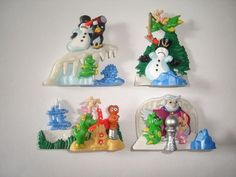 Kinder Surprise Set 3D Puzzle Tabaluga Dragon Winter 2001 Toys Collectibles | eBay