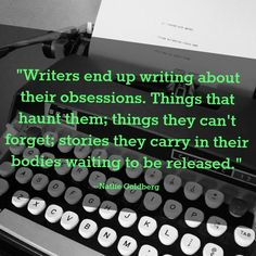 Writing through what haunts us...